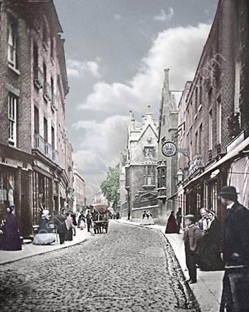 Sidney Street.