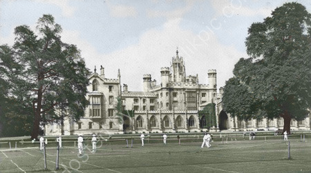 Tennis at St John's College.