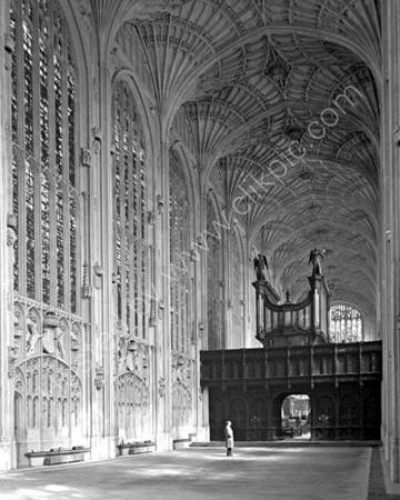 King's Chapel Interior