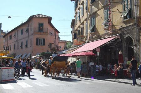 Street Scene. Pisa.