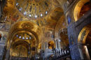 St Mark's Interior, Venice.