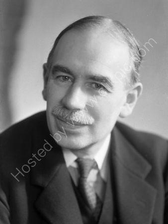 Lord Maynard Keynes.(1937)