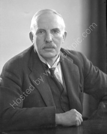 Lord Ernest Rutherford. (1937)