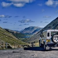 Kirkstone pass looking down to Brothers water