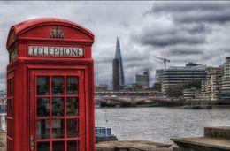 Phone box and the Shard