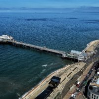North pier from the tower