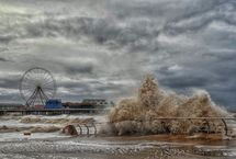 Stormy day at Blackpool