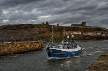 Fishing at Whitby