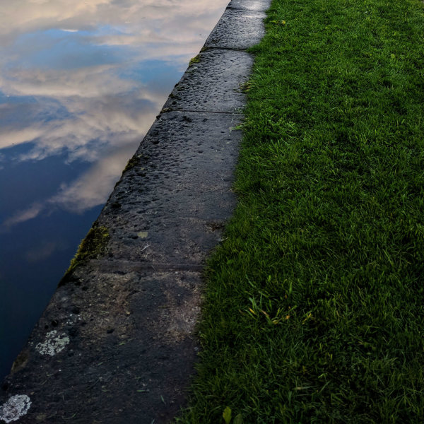Canal and Grass