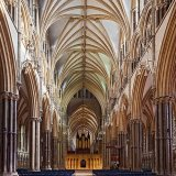 Lincoln Cathedral Nave to Crossing