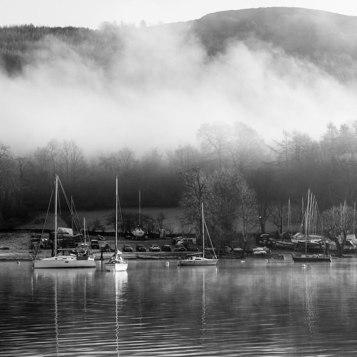 Morning Mist Windermere