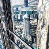 Reflection From Burj Khalifa