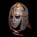 Replica Anglo Saxon Helmet Of That Found In The Famous Sutton Hoo Ship Burial