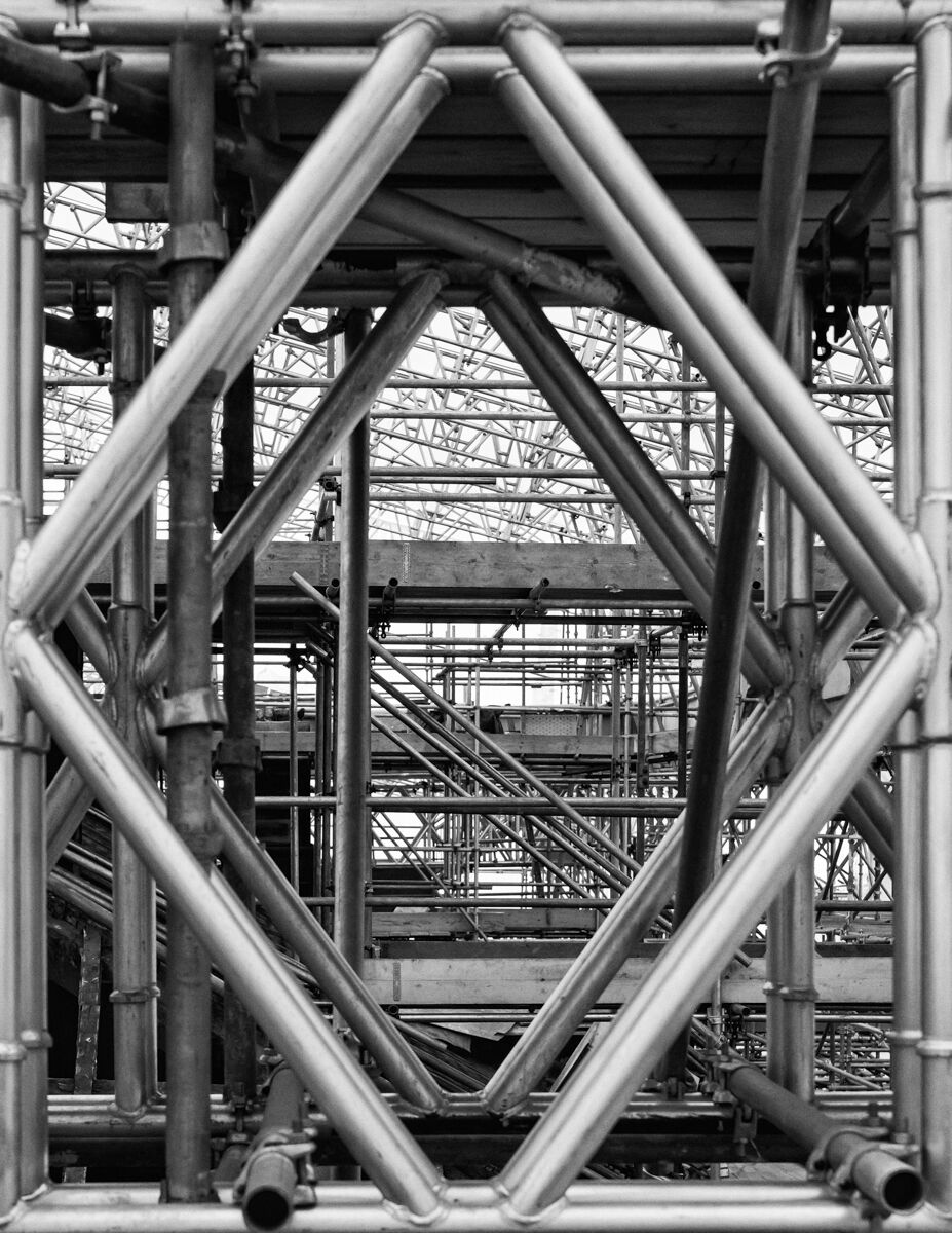 Scaffolding, Wentworth Woodhouse Roof