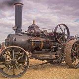 Steam Winch Traction Engine
