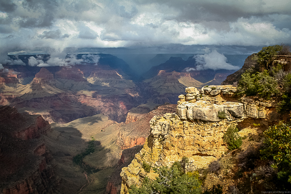 Grand Canyon Low Cloud #1