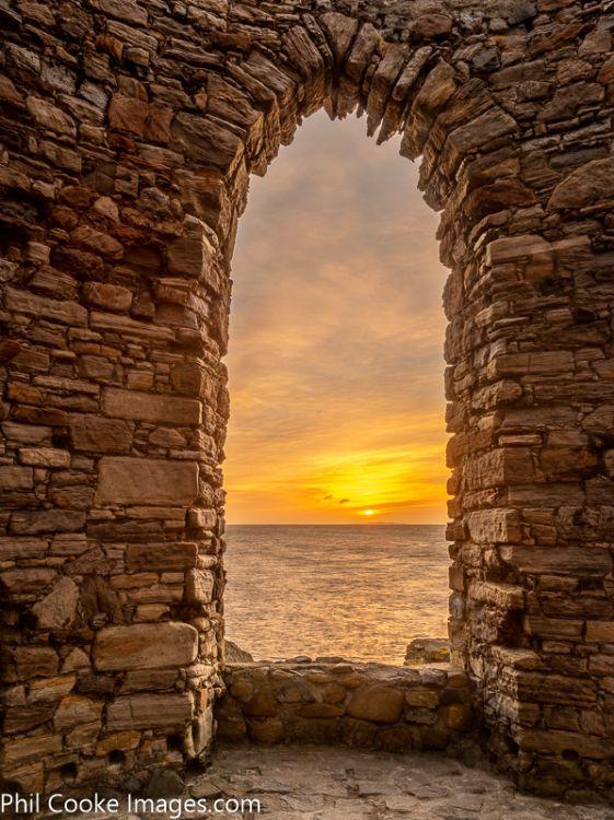 Elie Tower Sunrise