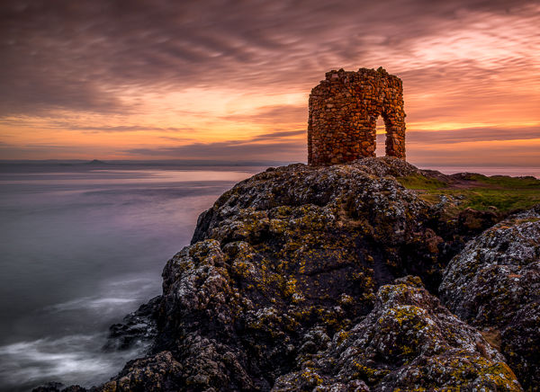 Elie Tower at Sunset