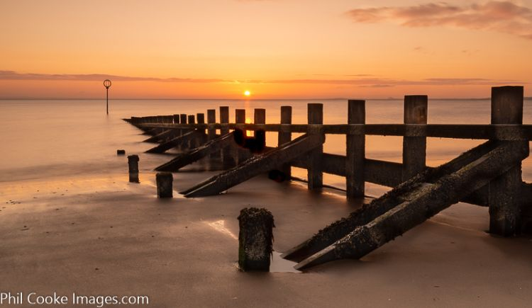 Portobello Groyne Sunrise