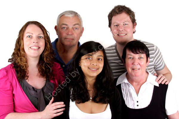 Family group photography