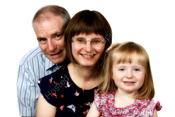 Family portrait photography in Sheffied