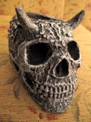 Horn Scull tea Candle, Etsy PJCreationCraft