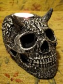 HornScull tea Candle (5)