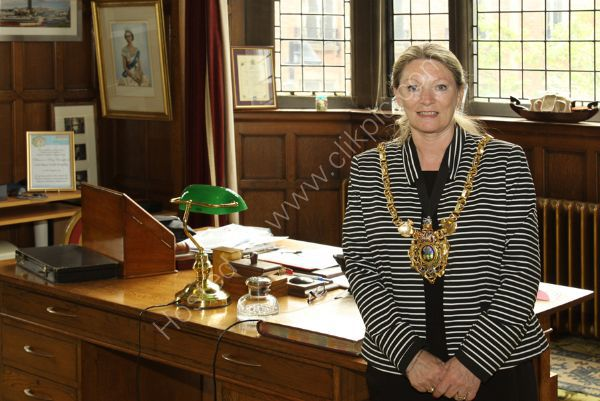 The 117th Lord Mayor of Sheffield, Councillor Vickie Priestley.
