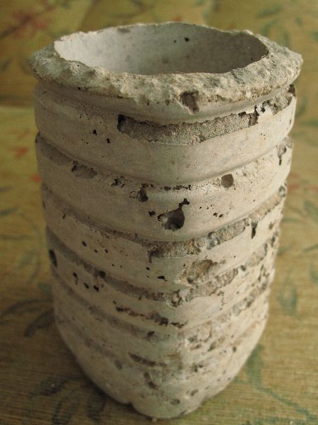 Little Ripped Hypertufa plant pot 565-24