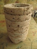Etsy PJCreationCraft, Hypertufa plant pot.