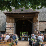 A beautiful setting for a wedding, Becky & Tom at Ratsbury Barn.