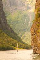 Cruising Fjords Flaam Norway