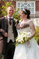Helen & Laurence Wedding at Saint Augustine's Priory, Bilsington near Ashford Kent