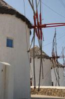 Windmill on the Island of Mykonos