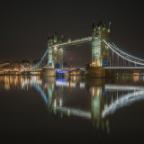 tower bridge from reflected II