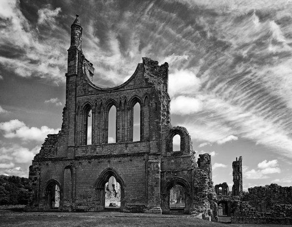 1st Place: Byland Abbey