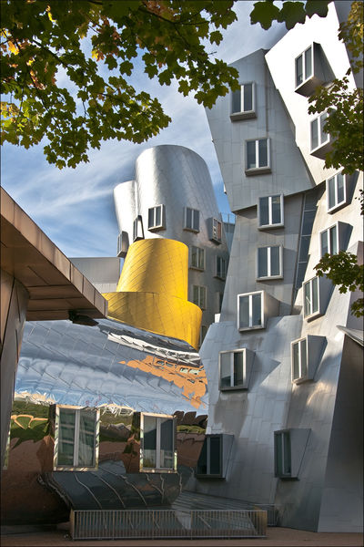 1st Place: Stata Building by Frank Gehry