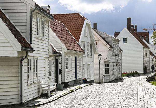 3rd Place: Old Stavanger - 1