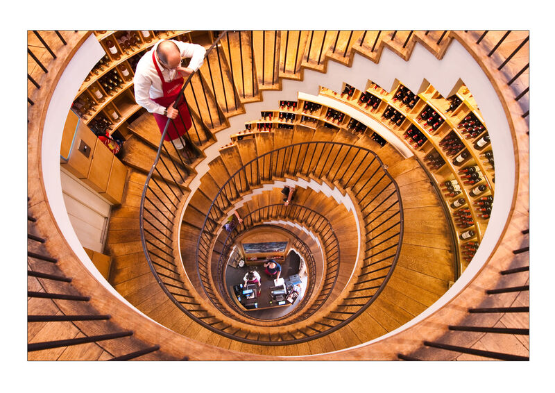Commended: Wine Store Spiral
