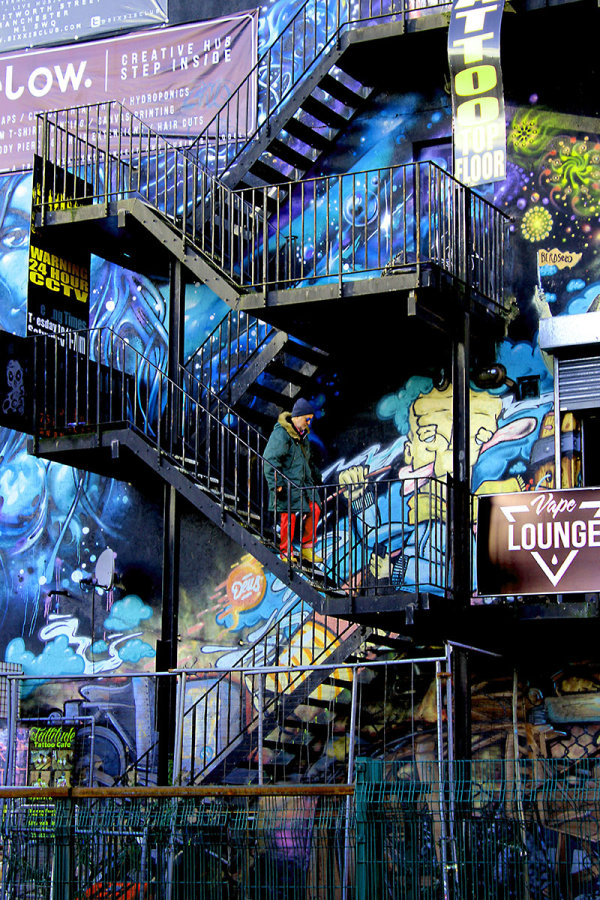 2nd Place: In the Midst of Urban Art