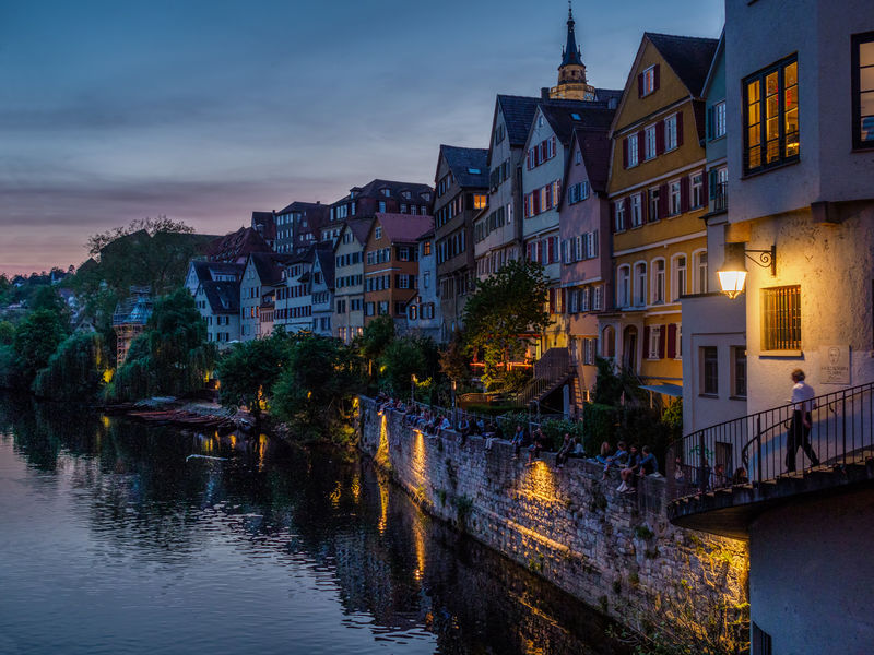 Highly Commended: Evening in Tuebingen