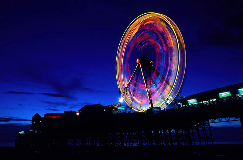 Commended: Big Wheel Central Pier Blackpool