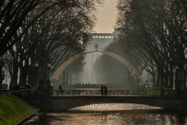 1st Place: Bridge over the River Dussel