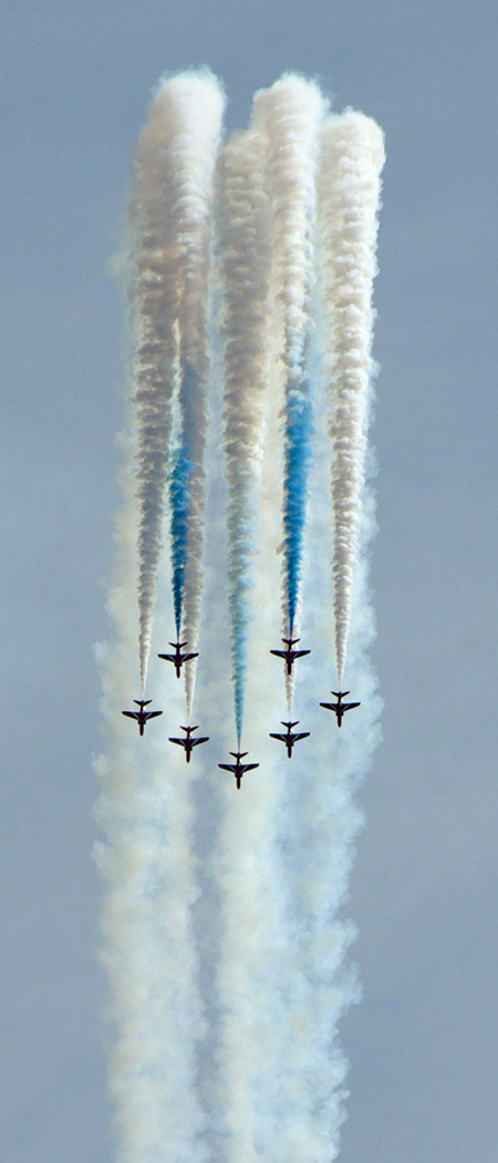 3rd Place: Red Arrows
