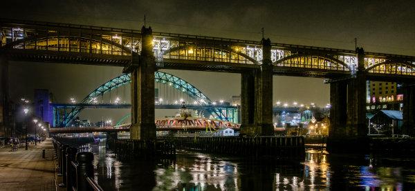 1st: Tyne Bridges