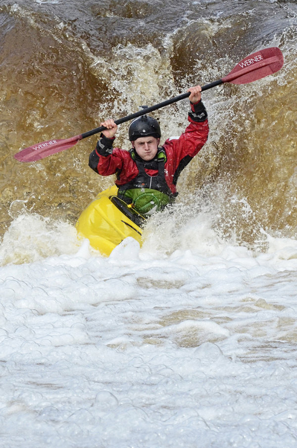 Highly Commended - Kayaking at Wain Wath Force
