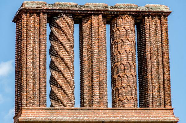 Commended: Chimney Detail Schloss Cecilienhof Potsdam