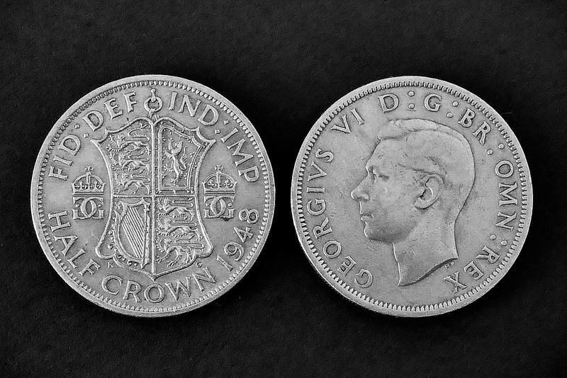 Commended: George V1 Half Crown Coin