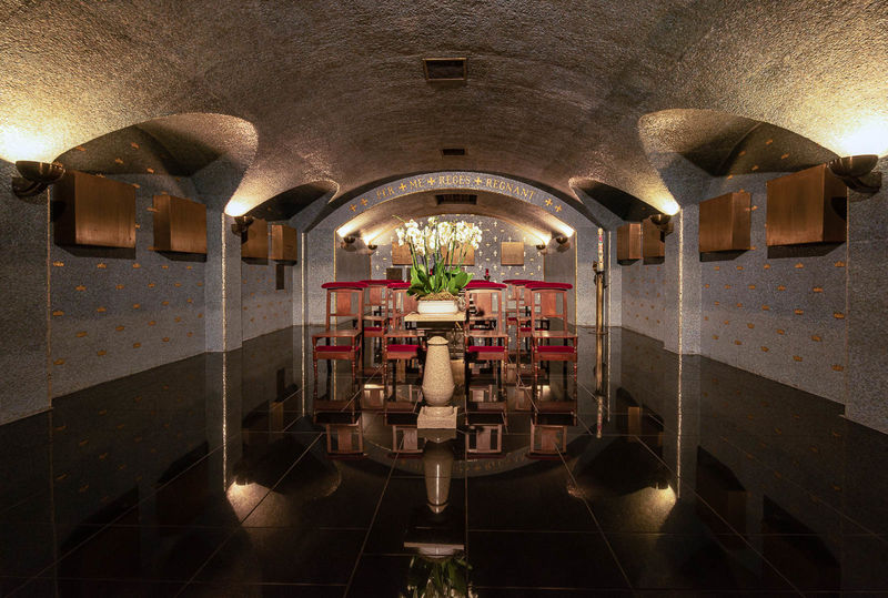 Commended: Luxembourg Cathedral Crypt
