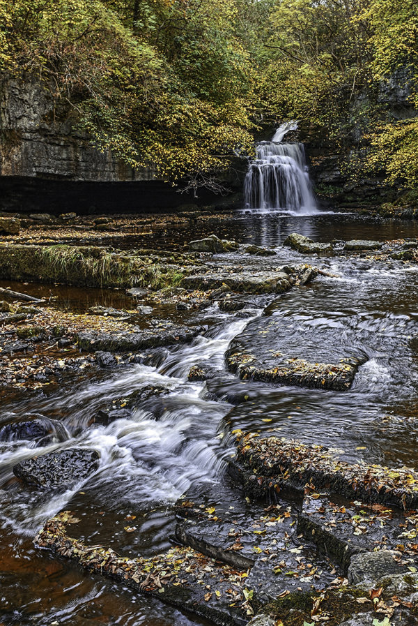 Commended: Autumn at Cauldron Falls West Burton